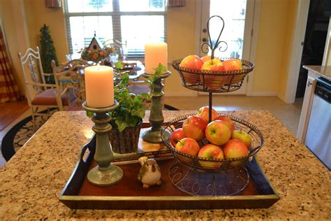 centerpiece ideas for kitchen table kristen 39 s creations kitchen island vignette
