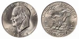 1978 Eisenhower Dollar Clad Composition Resumed Coin Value