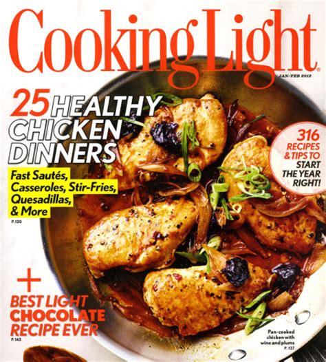 cuisine light portfolio cooking light magazine custom