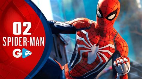 spider man ps4 02 o novo traje do homem aranha e explorando o mundo aberto ps4 pro pt br