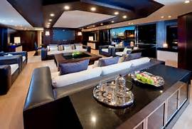 Luxurious Interior Design The Main Saloon Of This Yacht Has Been Meticulously Designed To Be A