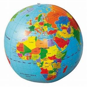 Globe Terrestre Pour Enfant : globe terrestre gonflable viroux ~ Teatrodelosmanantiales.com Idées de Décoration