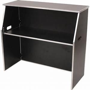 48, U0026, 39, U0026, 39, W, Portable, Folding, Bar, With, Aluminum, Edge, And, Laminate, Finish