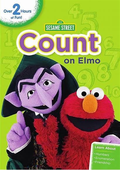 Sesame Elmo Count Street Dvd Fun Tv