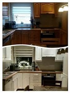 Küchenfronten Streichen Vorher Nachher : k chenfronten austauschen 37 vorher nachher beispiele k che ~ Watch28wear.com Haus und Dekorationen