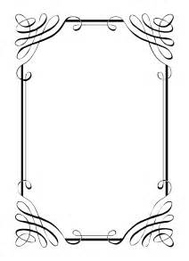 free vintage clip images calligraphic frames and borders