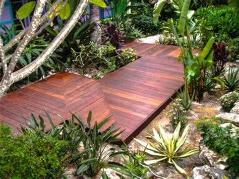 ipe decking tropical deck orange county the tiki