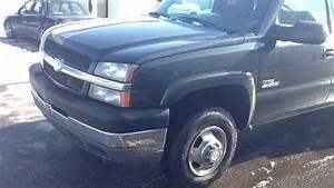 2003 Chevy Duramax 3500 Diesel Crew Cab 4x4 Flatbed Dually