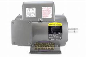 5 Hp 3450 Rpm 1 Phase Industrial Baldor Electric Motor 184t Frame L1409t 230 V