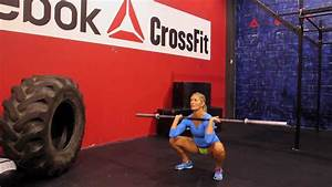 """Reebok CrossFit ONE Movement Demo """"Barbell Thruster"""" - YouTube"""