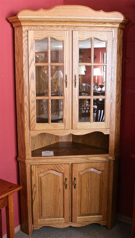 30″ Corner Country Hutch  Amish Traditions Wv
