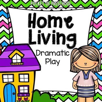 home living dramatic play center  preschool pre