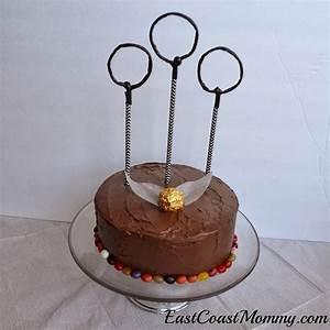 East Coast Mommy: Easy Harry Potter Cakes