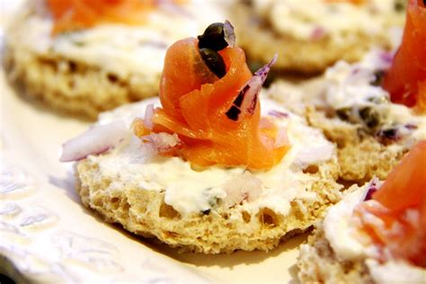 canape hors d oeuvres stranded in cleveland smoked salmon canapés recipe