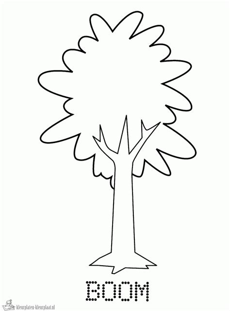 Bomen Kleurplaten by Kleurplaten Boom Kleurplaten Kleurplaat Nl