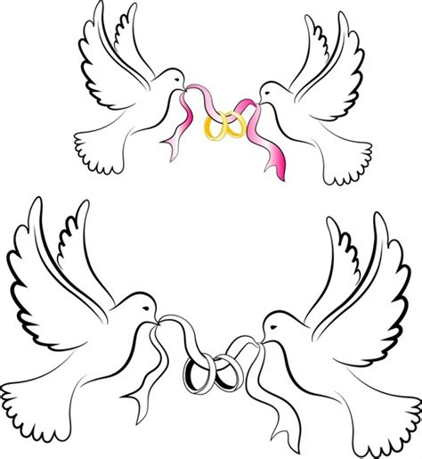 wedding rings with doves images wedding dove and rings wedding wallpaper