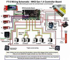Ft-5 Wiring  U0026 Firmware Questions - Build    Setup