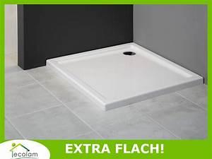 Extra Tiefe Duschwanne : duschwanne duschtasse viereck flach dusche 80 90 100 x ~ Michelbontemps.com Haus und Dekorationen