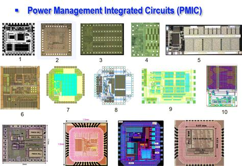 Power Management Integrated Circuits Spec The