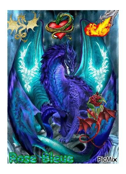 Bleu Dragon Vert Picmix