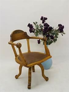 Stuhl Eiche Massiv : stuhl drehstuhl b rostuhl armlehnstuhl antik um 1920 aus eiche massiv 3020 ebay ~ Orissabook.com Haus und Dekorationen