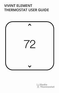 Vivint Element Thermostat User Guide