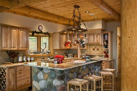 log cabin kitchen images log home kitchen log cabin