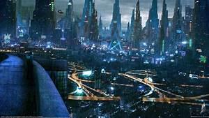 Cyberpunk, Cityscape, City, Futuristic, City, Digital, Art