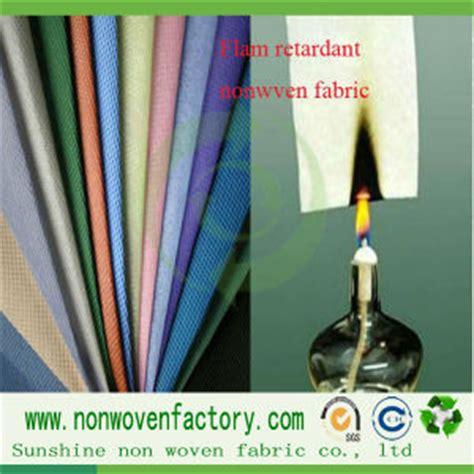 china 100 polypropylene nonwoven non flammable fabric