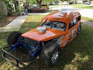 1939 Chevy Lee Osborne Tribute Race Car   Asphalt   Circle