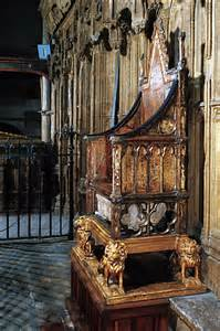 the coronation chair of aka king edward s chair is the throne on which the