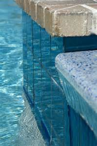 modono color shifting tiles used in a residential pool