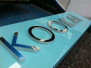 2pak mdf with push through acrylic letters with mirror With mirror acrylic letters
