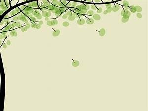 Drawing pithy trees left side Background PowerPoint ...