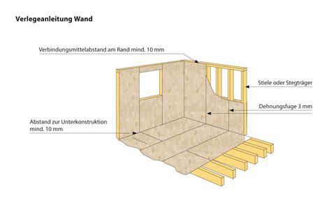 Fliesen Auf Osb Wand by Osb Platten Verlegen Wand Home Ideen