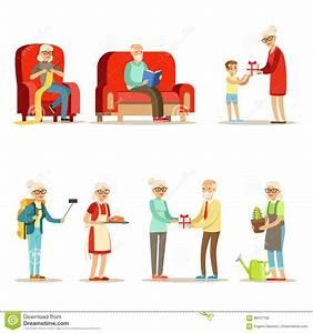 Personnes âgées Plein Ensemble Vivant De Live And Enjoying Their Hobbies Et De Loisirs De