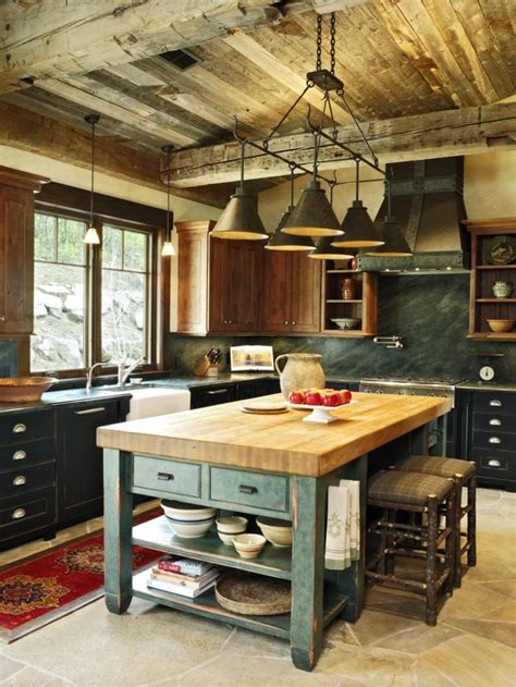 ideas de decoracion de cocina americana mesa