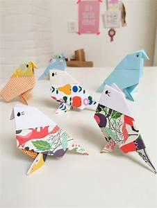 Comment Faire Un Oiseau En Papier : 1001 id es originales comment faire des origami facile ~ Melissatoandfro.com Idées de Décoration