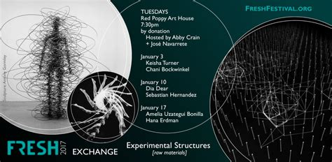 Upcoming Events  Fresh Exchanges Experimental Structures