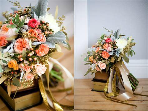 A Bright Sparkly Gold Wedding Utah Wedding Florist