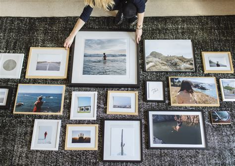 how to make a gallery wall how to hang a gallery wall the right way