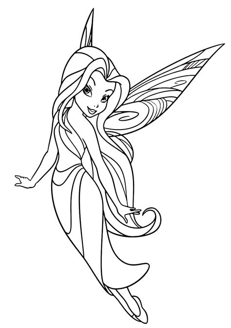 Cute & Beautiful Fairy Coloring Pages (Updated)