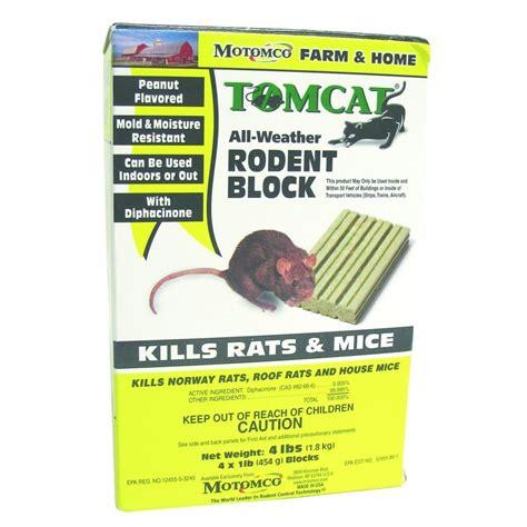 Tomcat Allweather Rodent Block  1 Lb Pest Control