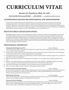 Curriculum vitae curriculum vitae sample undergraduate for Cv template for physicians