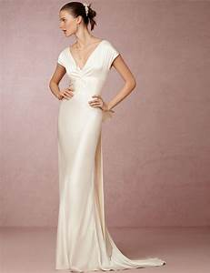 Popular wedding dresses silk buy cheap wedding dresses for Silk sheath wedding dress