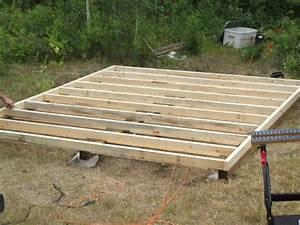Small Cabin Floor Joist