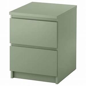 Ikea Table De Nuit : ikea commode malm 2 tiroirs table de chevet table de nuit 5 couleurs ebay ~ Teatrodelosmanantiales.com Idées de Décoration