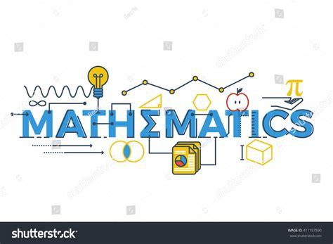 illustration mathematics word stem science technology stock vector 411197590 shutterstock