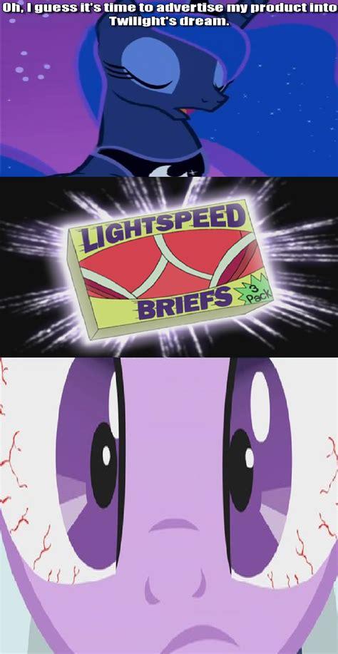 Mlp Luna Meme - princess luna s lightspeed briefs my little pony friendship is magic know your meme