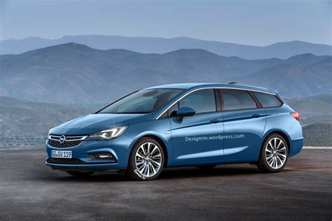 opel astra 2015 2015 opel astra k imagined as a sports tourer autoevolution
